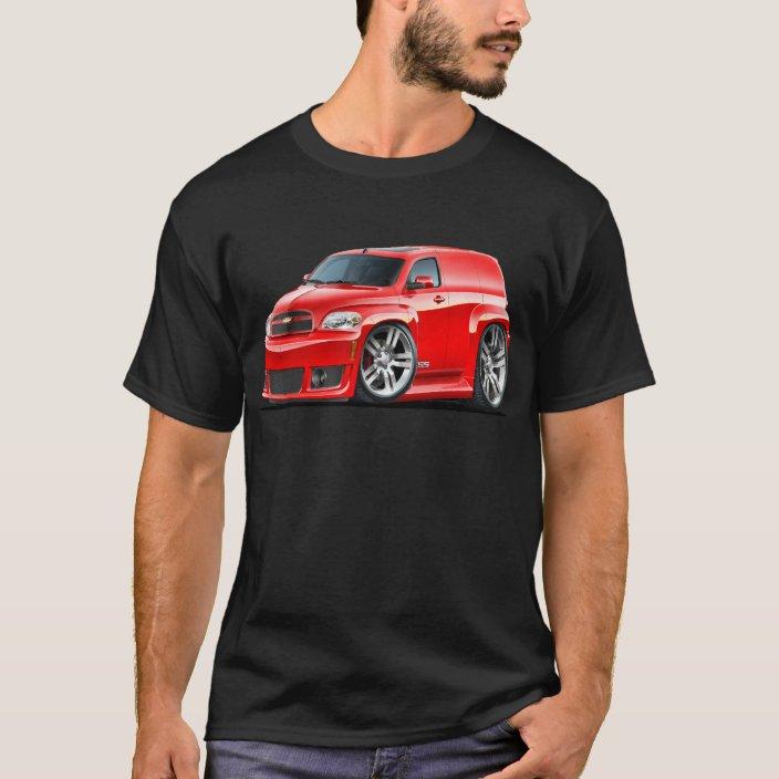 Chevy Hhr Ss Red Panel Truck T Shirt Zazzle Com