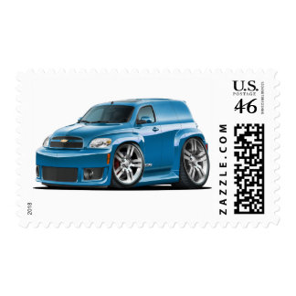 Chevy HHR SS Teal Panel Truck Postage Stamps