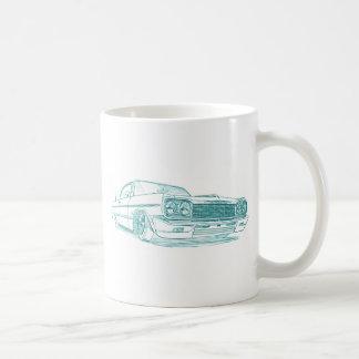 Chevy Impala 1964 lowrider Coffee Mug