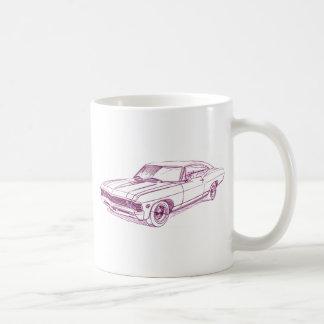 Chevy Impala 1967 Classic White Coffee Mug