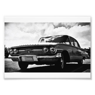 Chevy Impala - Fine Art Print Photo Print