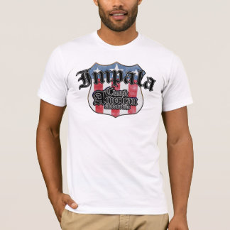 Chevy Impala - Route 66 - American Classic T-Shirt