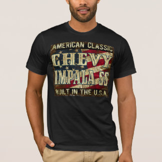 Chevy Impala SS - Classic Car Built in the USA T-Shirt