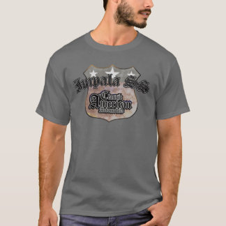 Chevy Impala SS Classic - Faded Hues Rte 66 Sign T-Shirt
