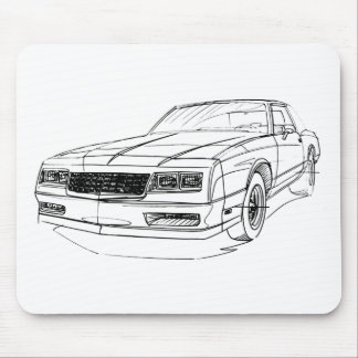 Chevy Monte Carlo 1983-86 Mouse Pads