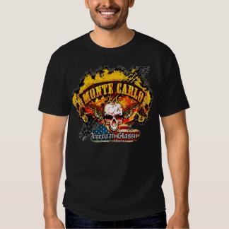 Chevy Monte Carlo - cráneo de la bandera de la Remeras
