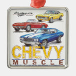 Chevy Muscle Christmas Ornament