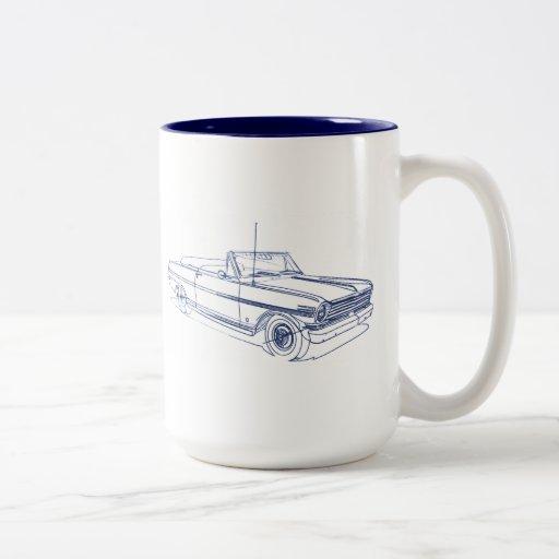 Chevy Nova 1963 SS Conv Mugs