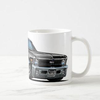 Chevy Nova Black Car Mug