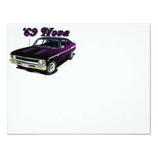 Chevy:  Nova 4.25x5.5 Paper Invitation Card