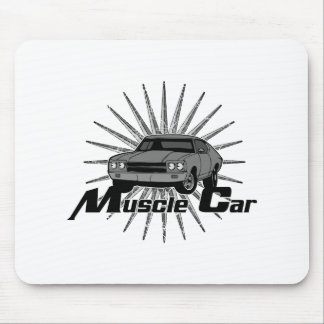 Chevy Nova Muscle Car Mouse Pad