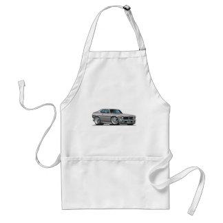 Chevy Nova Silver Car Aprons