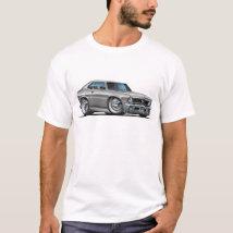 Chevy Nova Silver Car T-Shirt