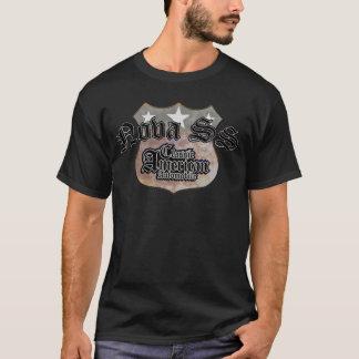Chevy Nova SS Classic - Faded Hues Rte 66 Sign T-Shirt