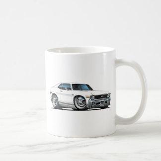 Chevy Nova White Car Coffee Mug