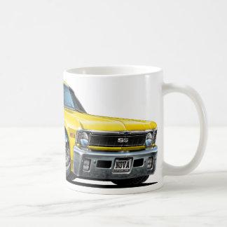 Chevy Nova Yellow Car Coffee Mug