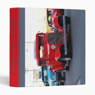 Chevy Parade Vinyl Binder