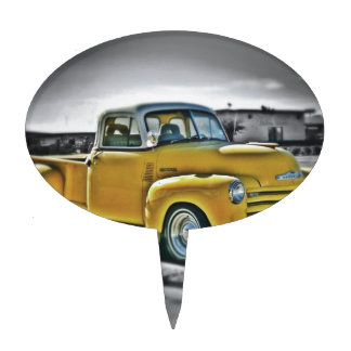 Chevy pick UP Cake Topper