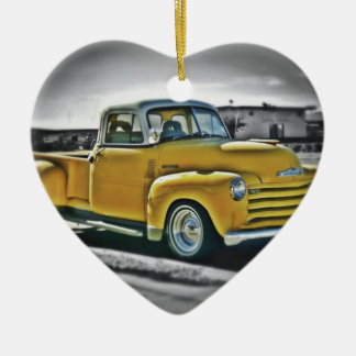 Chevy pick UP Ceramic Ornament