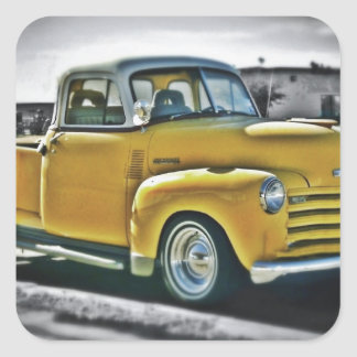 Chevy pick UP Square Sticker