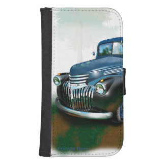 Chevy Pickup Galaxy S4 Wallet Case