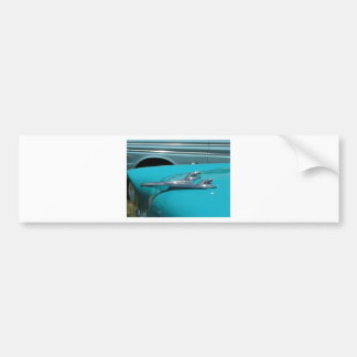 Chevy Plane Radiator Bumper Sticker