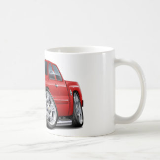 Chevy Silverado Red Extended Cab Coffee Mug