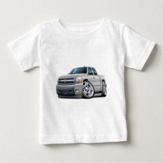 Chevy Silverado White Extended Cab Baby T-Shirt