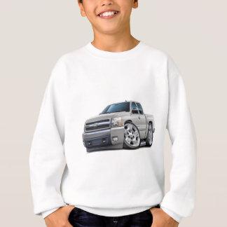 Chevy Silverado White Extended Cab Sweatshirt