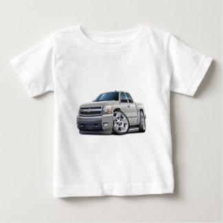 Chevy Silverado White Extended Cab Tee Shirt