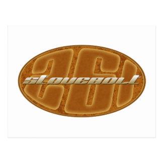 Chevy stovebolt 261 oval tan postcard