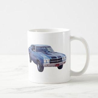 Chevy Super Sport Blue Mugs
