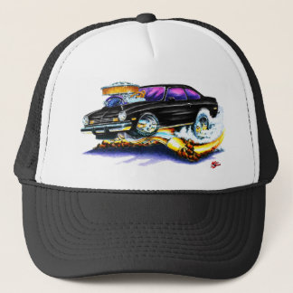 Chevy Vega Black Car Trucker Hat