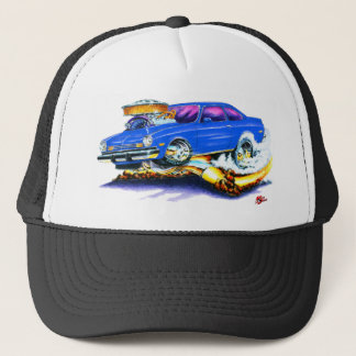 Chevy Vega Blue Car Trucker Hat