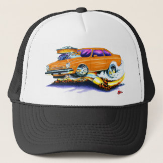 Chevy Vega Orange Car Trucker Hat