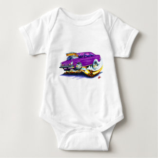 Chevy Vega Purple Car Baby Bodysuit