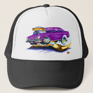Chevy Vega Purple Car Trucker Hat