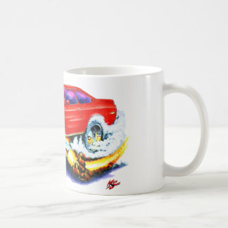 Chevy Vega Red Car Coffee Mug