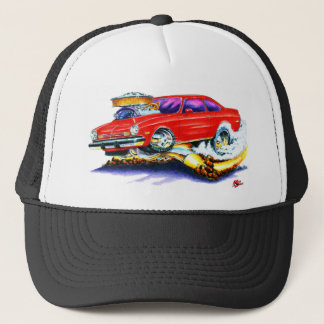 Chevy Vega Red Car Trucker Hat