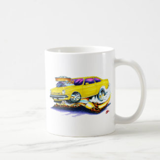 Chevy Vega Yellow Car Coffee Mug
