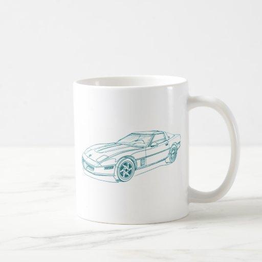 Chevy Vette 1988 Coffee Mug