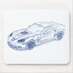Chevy Vette 2009 ZR1 Mouse Pad