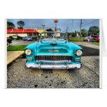 Chevy viejo tarjeta de felicitación