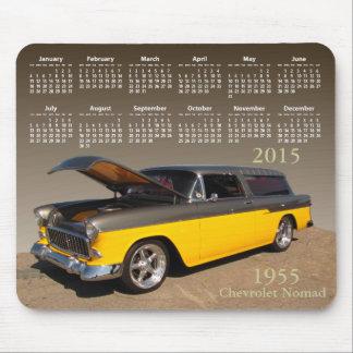 Chevy Wagon calendar ~ mousepad