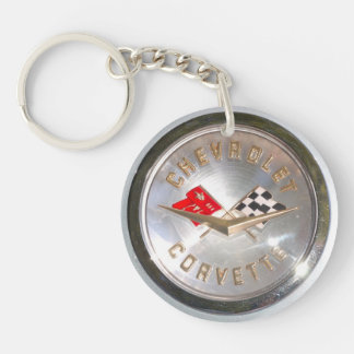 Chevy's Vette Acrylic Key Chains