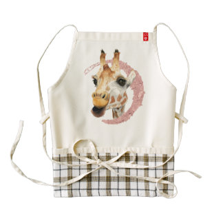 """Chew"" 3 Zazzle HEART Apron"