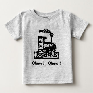 Chew Chew Trains Baby Baby T-Shirt