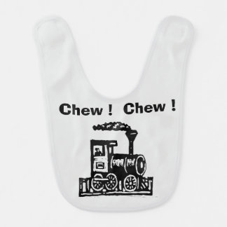 Chew Chew Trains Bib