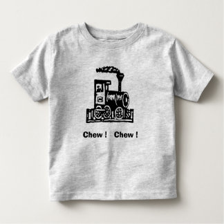 Chew Chew Trains Toddler Toddler T-shirt