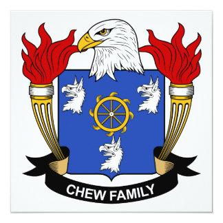 Chew Family Crest Invitation